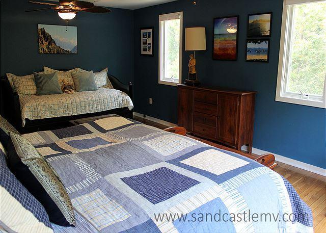 Een andere weergave van de slaapkamer