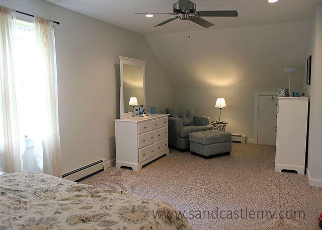 Another view of second floor Queen bedroom