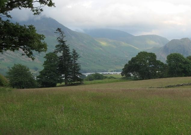Looking from Loweswater over to Crummock. A must stop viewpoint on the Loweswater walk.