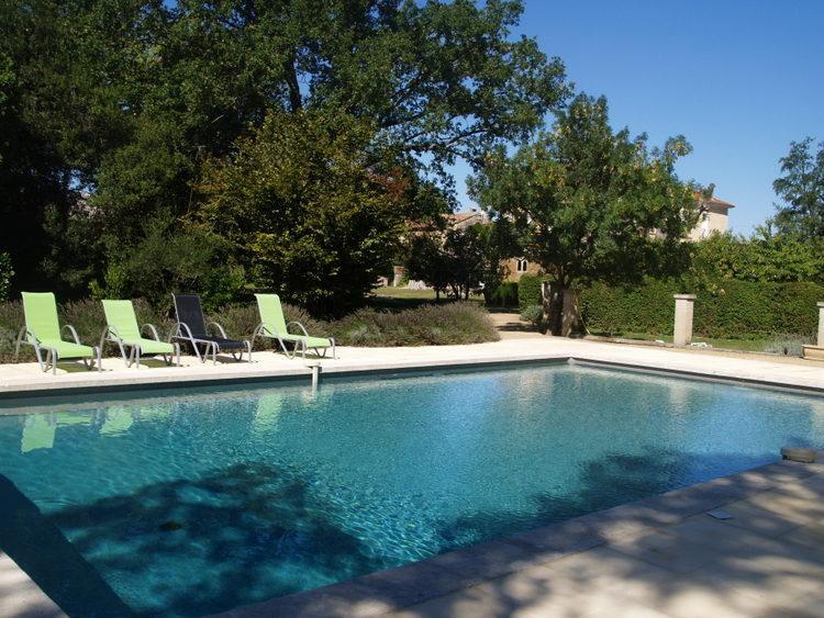 The swimming pool of Grand Causeran