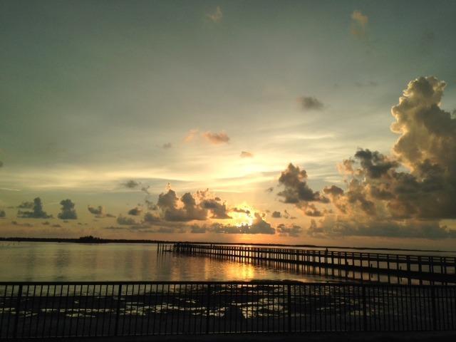 Sunset at Weaver Pier