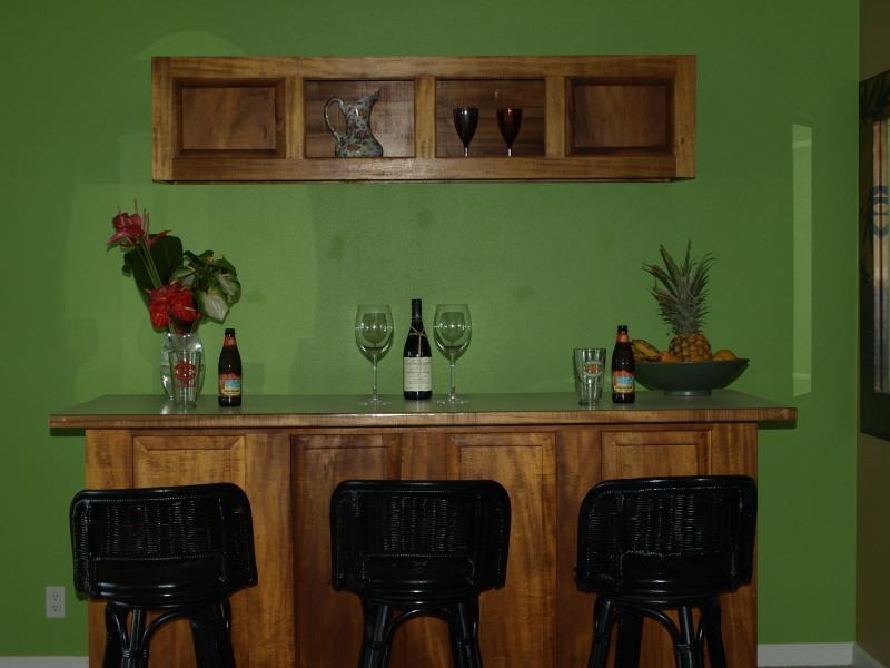 Downstairs TV Room Bar