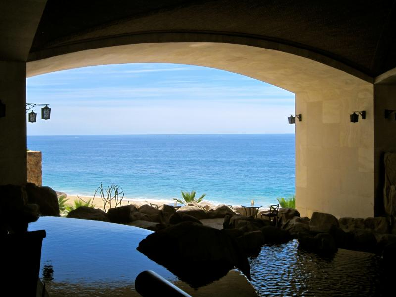 Pacific Ocean from lobby