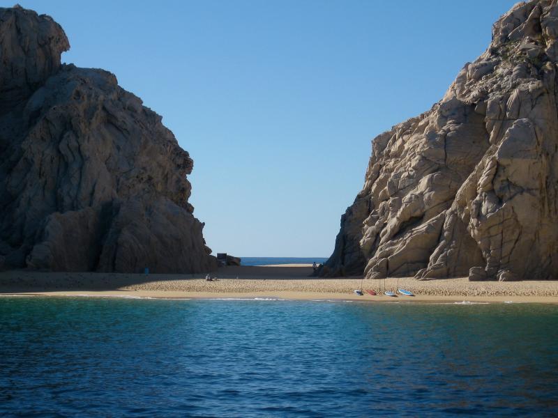 Cabo's 'Lover's Beach'