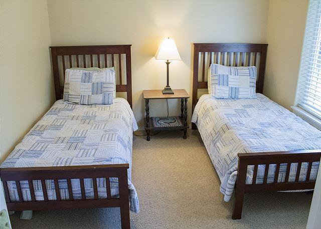Upstairs double twin bedroom