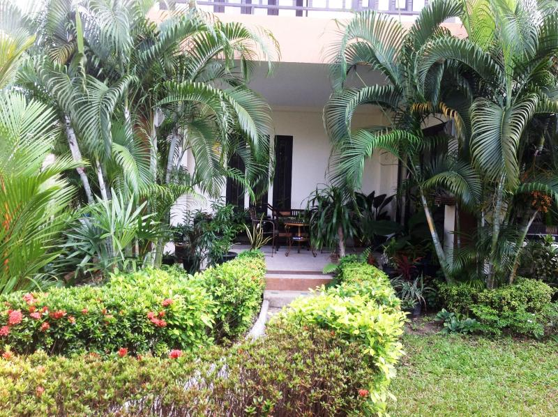 View to outside terrace....