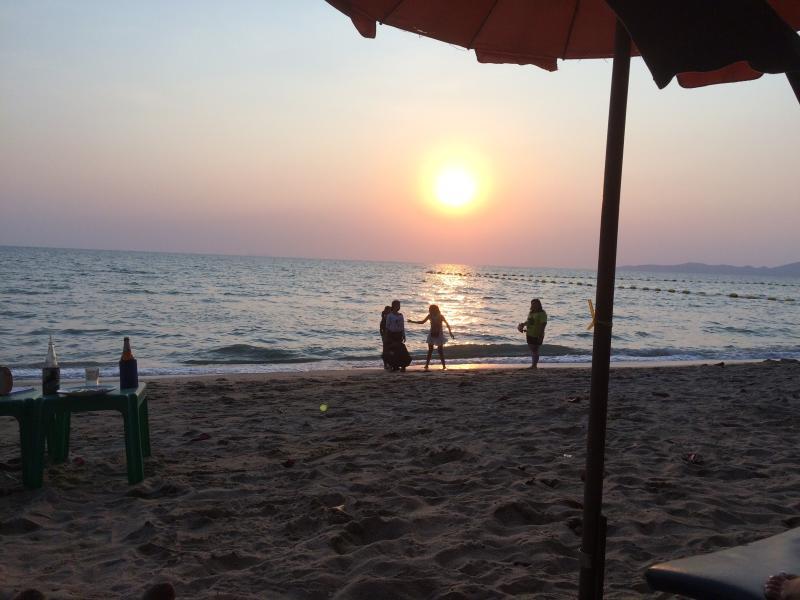 Sunset on Dong Tarn Beach -1