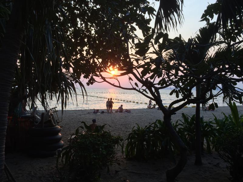 Sunset on Dong Tarn Beach - 2