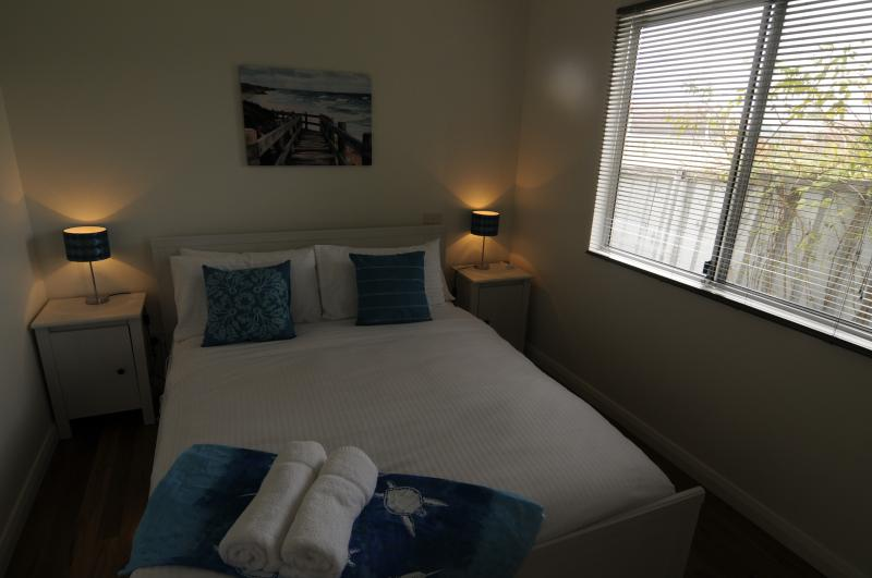 Well appointed bedroom with quality bed linen & towels provided FREE of charge