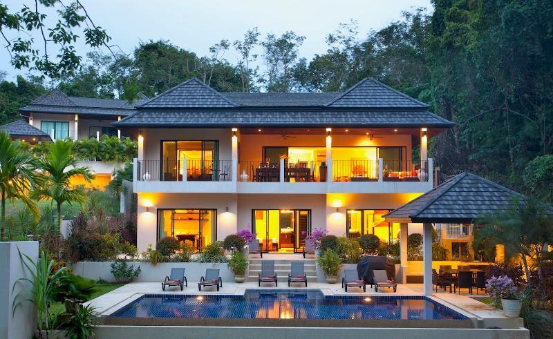 Sunstone Villa, 7 Bedroom, Private Pool villa, located 1km from beautiful Nai Harn Beach