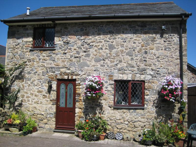 This is our picturesque holiday cottage in summer