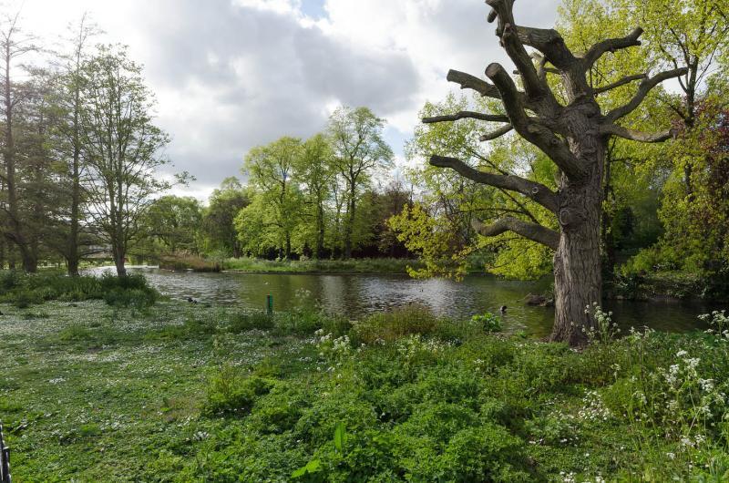 Regent's Park is a Few Minutes Walk