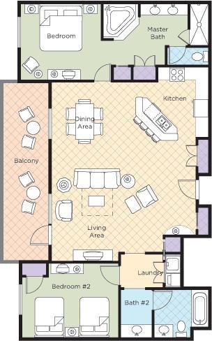 muestra de 1 dormitorio