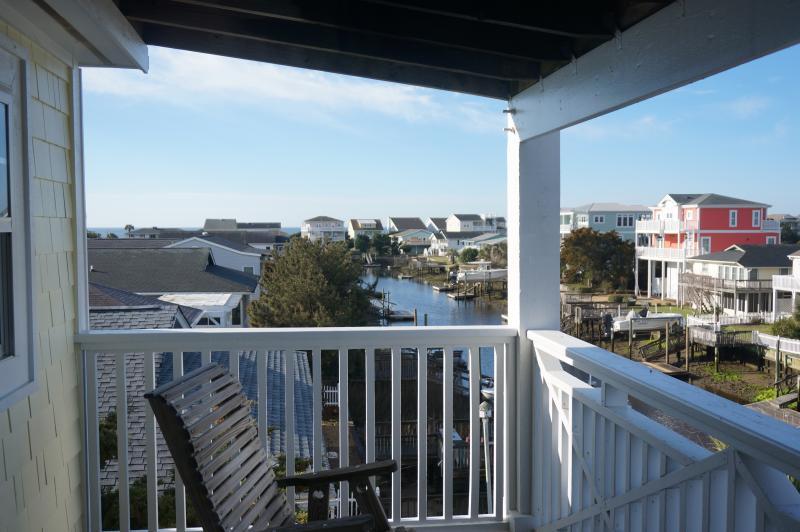 2nd Floor Deck view  - Ocean in background