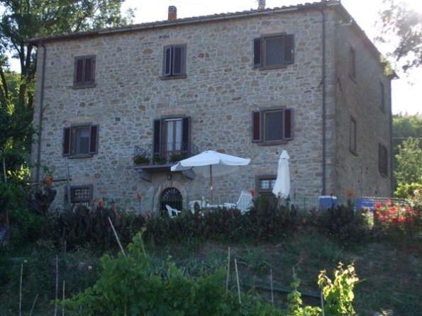 La Casa patronale di fine 1800, domina una vista verso la Val di Cecina, guarda la città Volterra.
