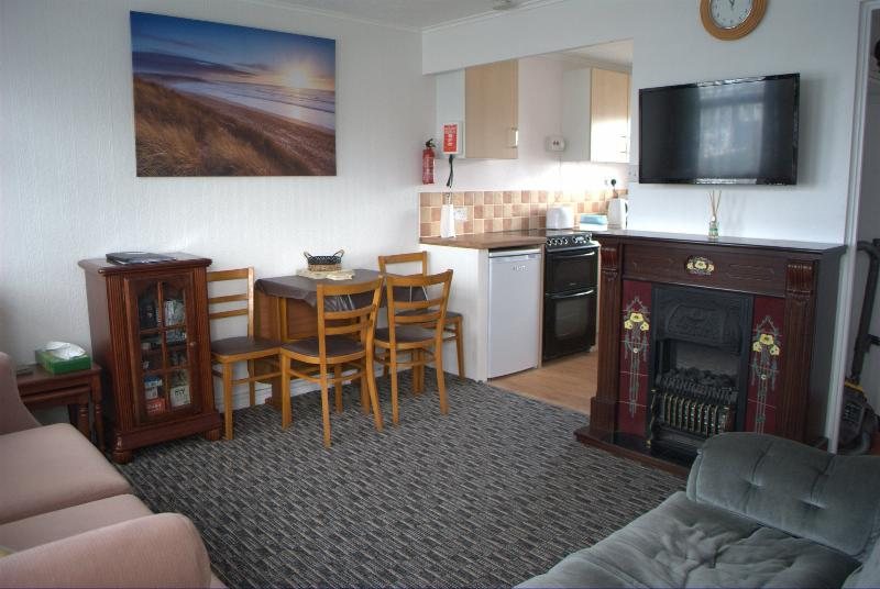 Comfortable 2 bedroom Chalet will sleep 6. Ideal accommodation for couples and families.