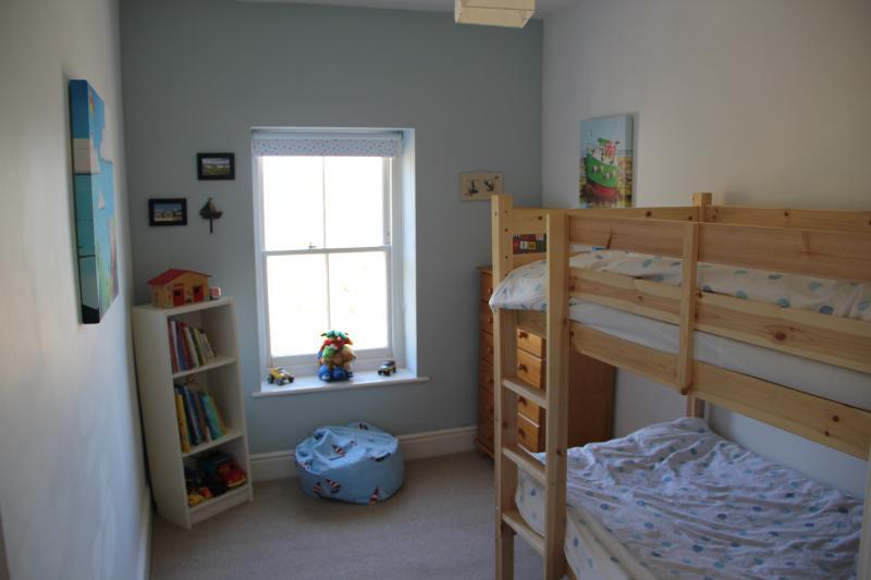 Bunk bedroom on the second floor