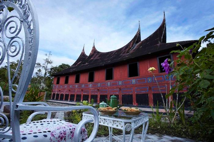 A Minang traditional house that was built around 1920 yet has modern facilities