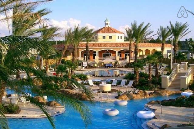 The Regal Palms Tropical Swimming Pavillion