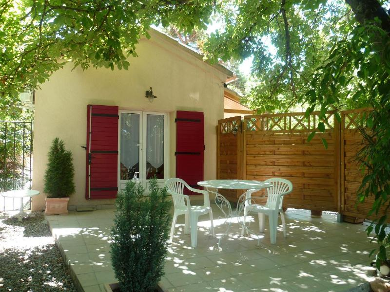 Le Marronnier, holiday rental in Mimet