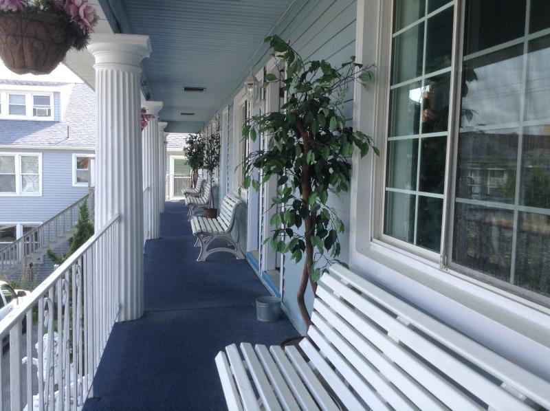 Balcón de estilo sureño
