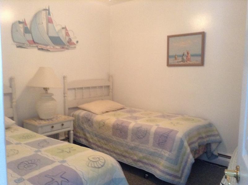 Amplio dormitorio con 2 camas individuales
