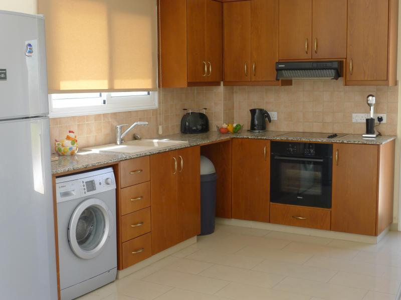 Spacious open plan kitchen...