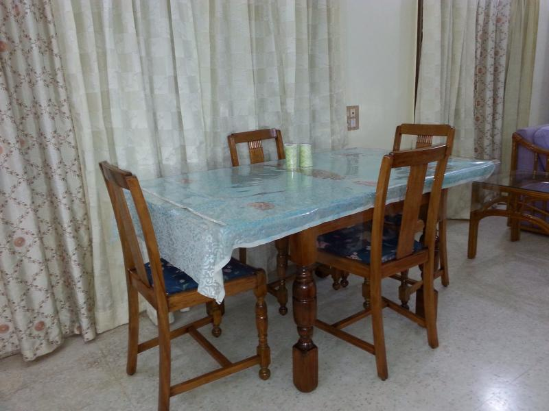 Antique English oak dining table