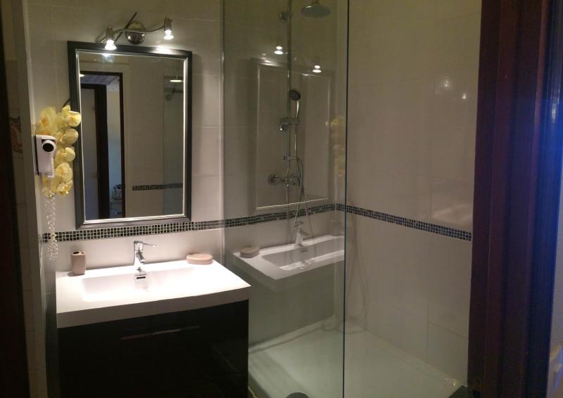 salle de bain entièrement refaitre à neuf