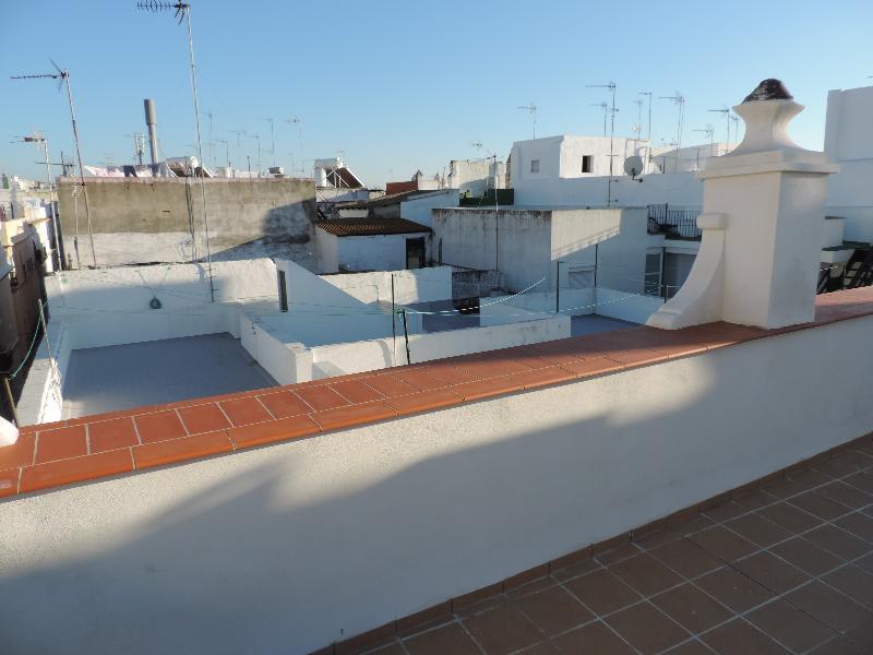 Azotea visitable con vistas panoramicas de Cadiz