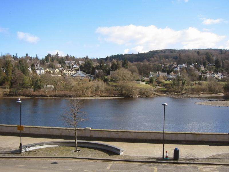 View from the windows over the River Tay
