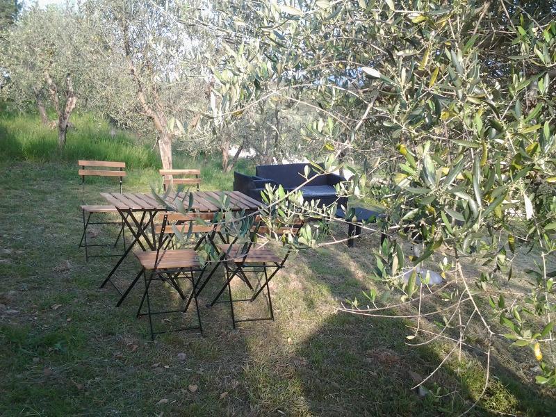 Private, detached garden