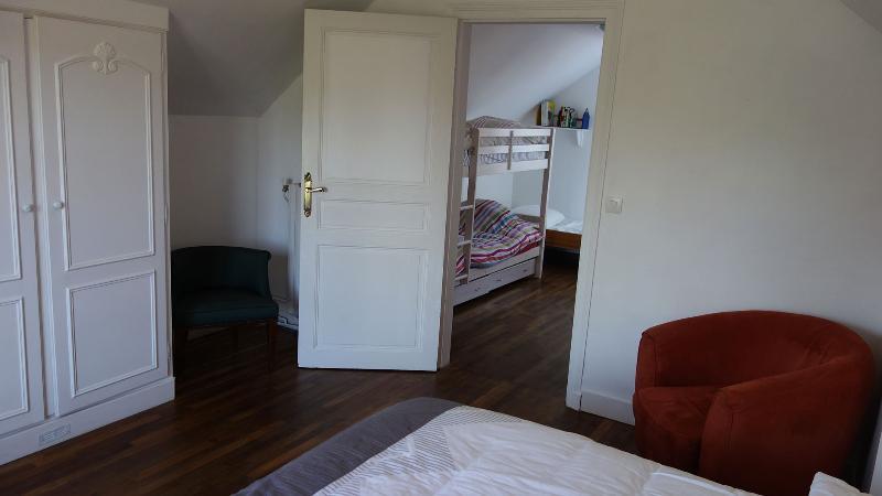 La chambre 1, vue sur la 2nd