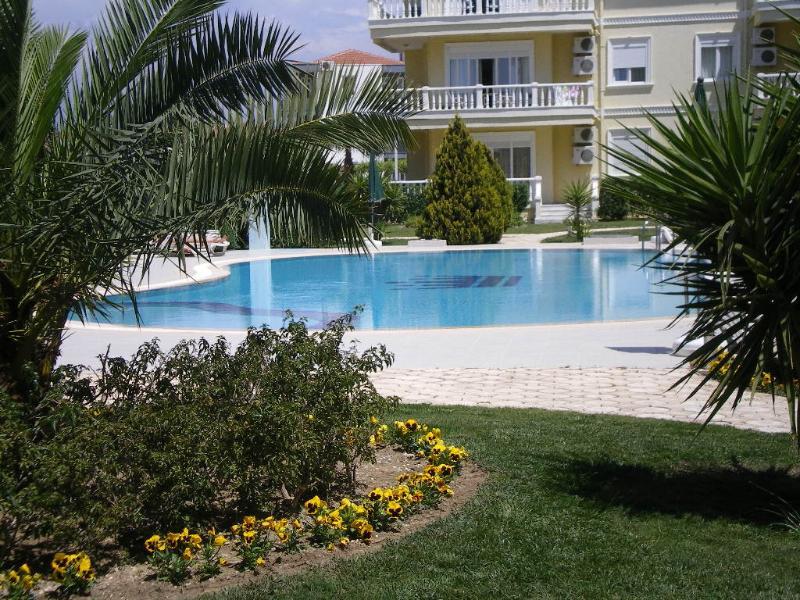 Essendo al piano terra piscina glorioso è solo a pochi passi di distanza.