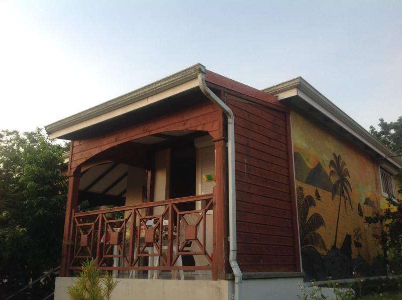Terrasse gîte Kanoa