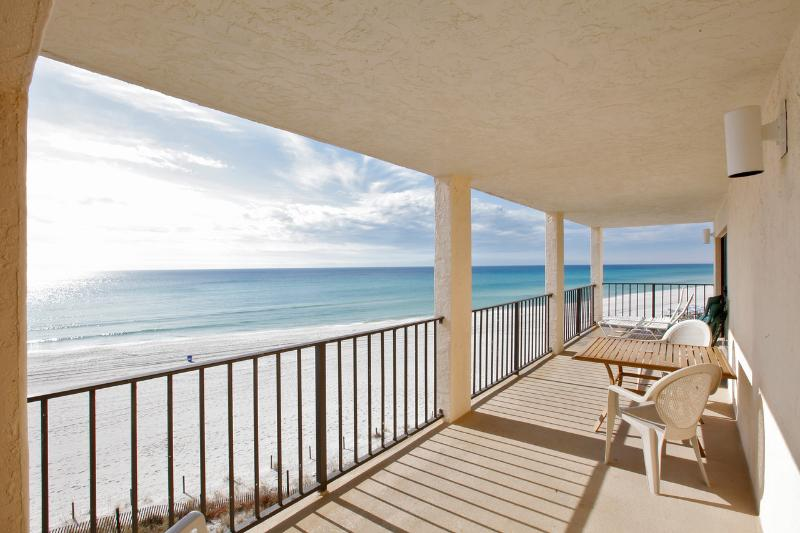 Fantastic Gulf & Beach Views from the Balcony