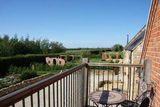The Hayloft is a luxury 4 bed countryside property with private balcony and fabulous views
