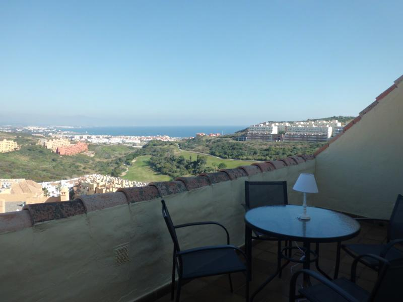 Ático con vistas del mar entre Marbella y Gibraltar