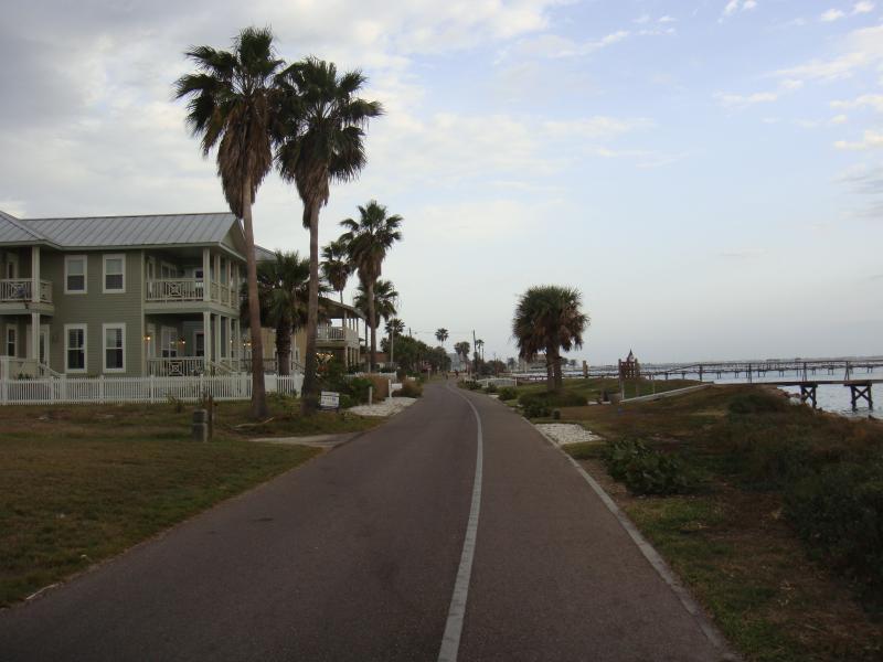 Hike and Bike trail on Water street
