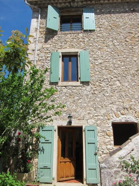 courtyard view of your gite