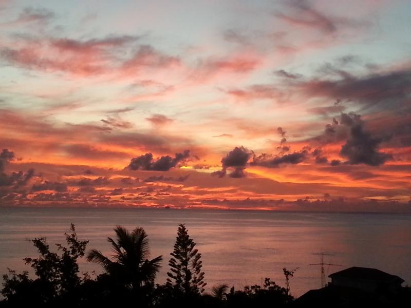 Si stanno avendo un momento di chilaxing, ammirando il tramonto