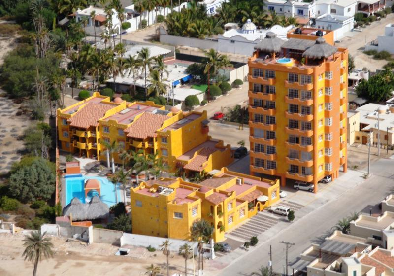 Villas La Posada Complex - includes assigned parking, 24/7 security, tower rooftop palapa and pool