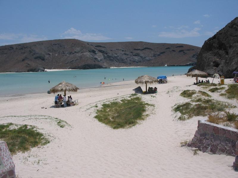 Balandra beach - 20 minute drive from Villas La Posada
