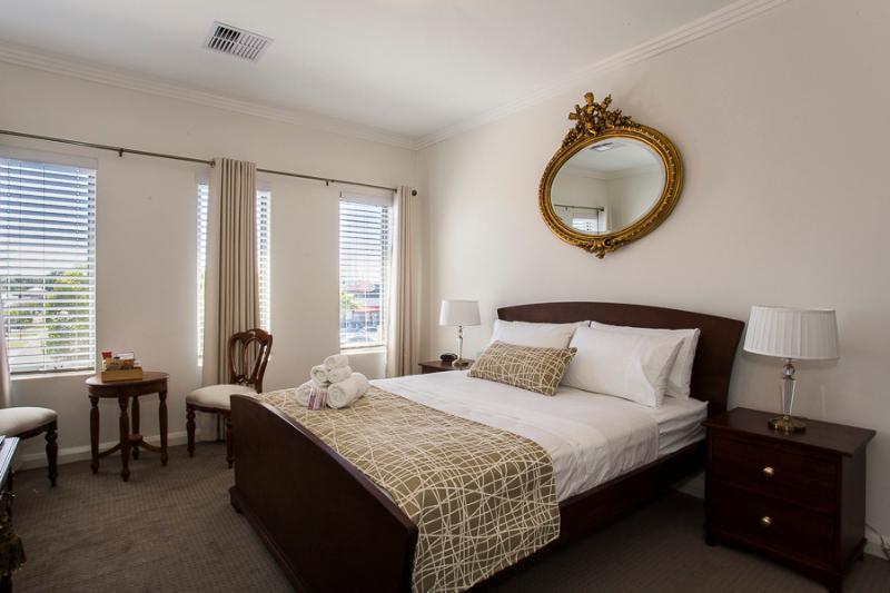 Königin Gold Zimmer