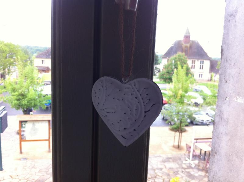 All rooms have great views over the square & into the beautiful Limousin countryside.