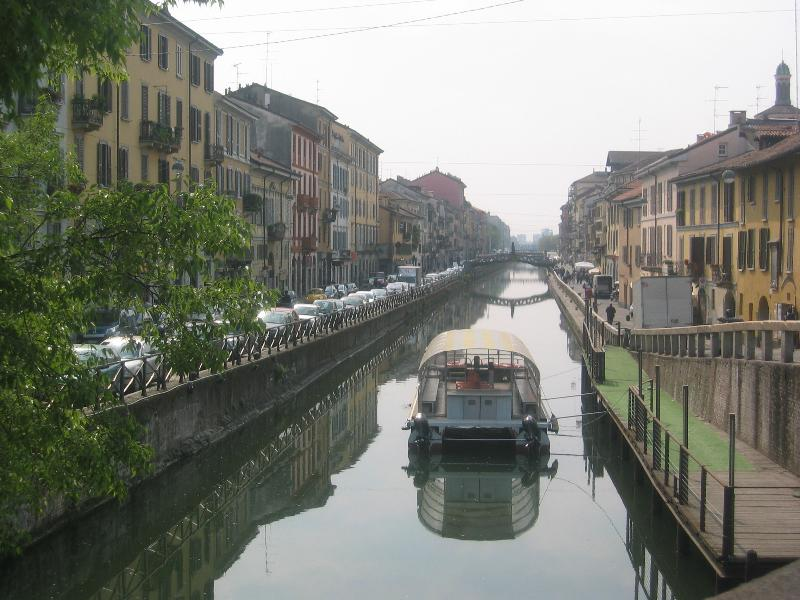 Milan: apartment on the Navigli, holiday rental in Corsico