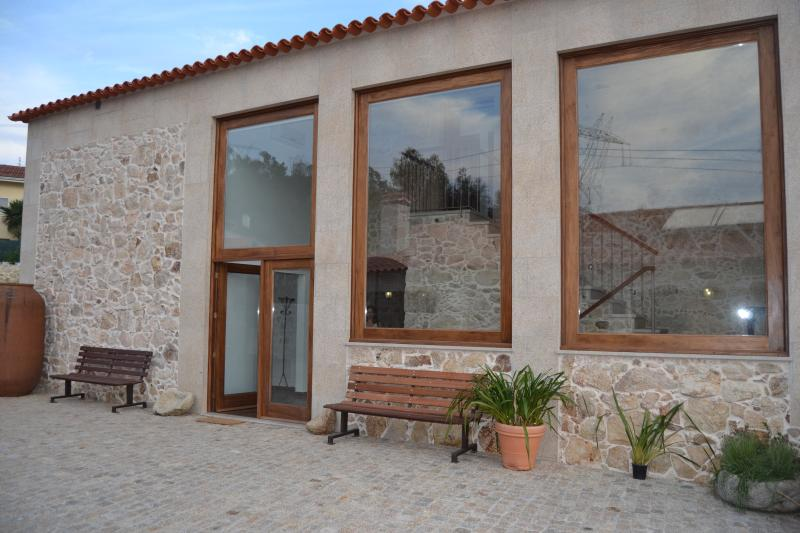 Casa principal, vista lateral