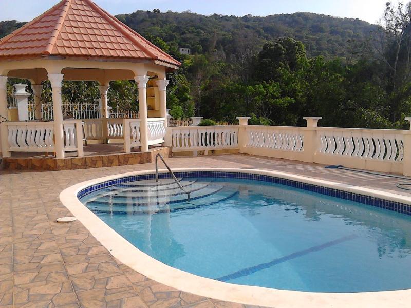 Área de la piscina compartida