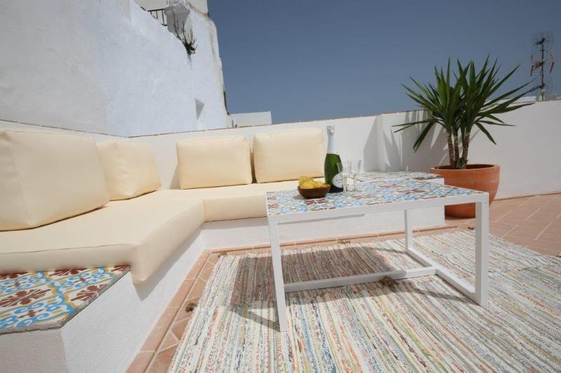 Azotea con vistas espectaculares, rincones chill out y tumbonas