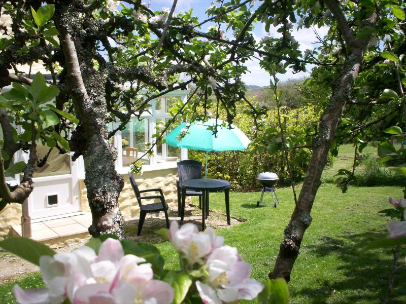 Orchard's End,Idyllic Location,Nr St.Agnes,Perranporth beach, Garden,BBQ,Parking, vacation rental in Mount Hawke